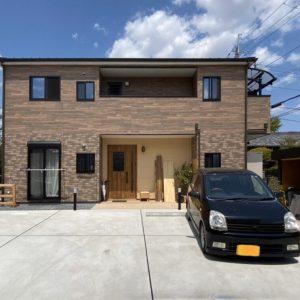 築80年で寿命を迎えていた木造住宅から、新築住宅に。